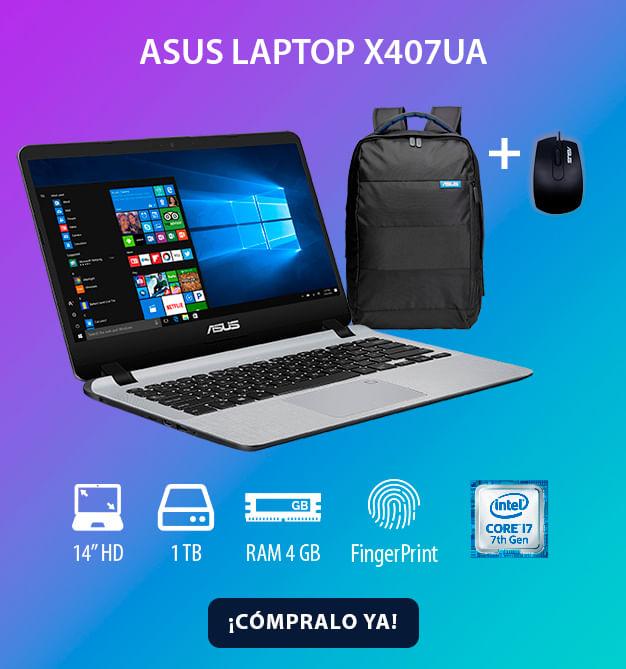 Portatil Asus x407 Core i7