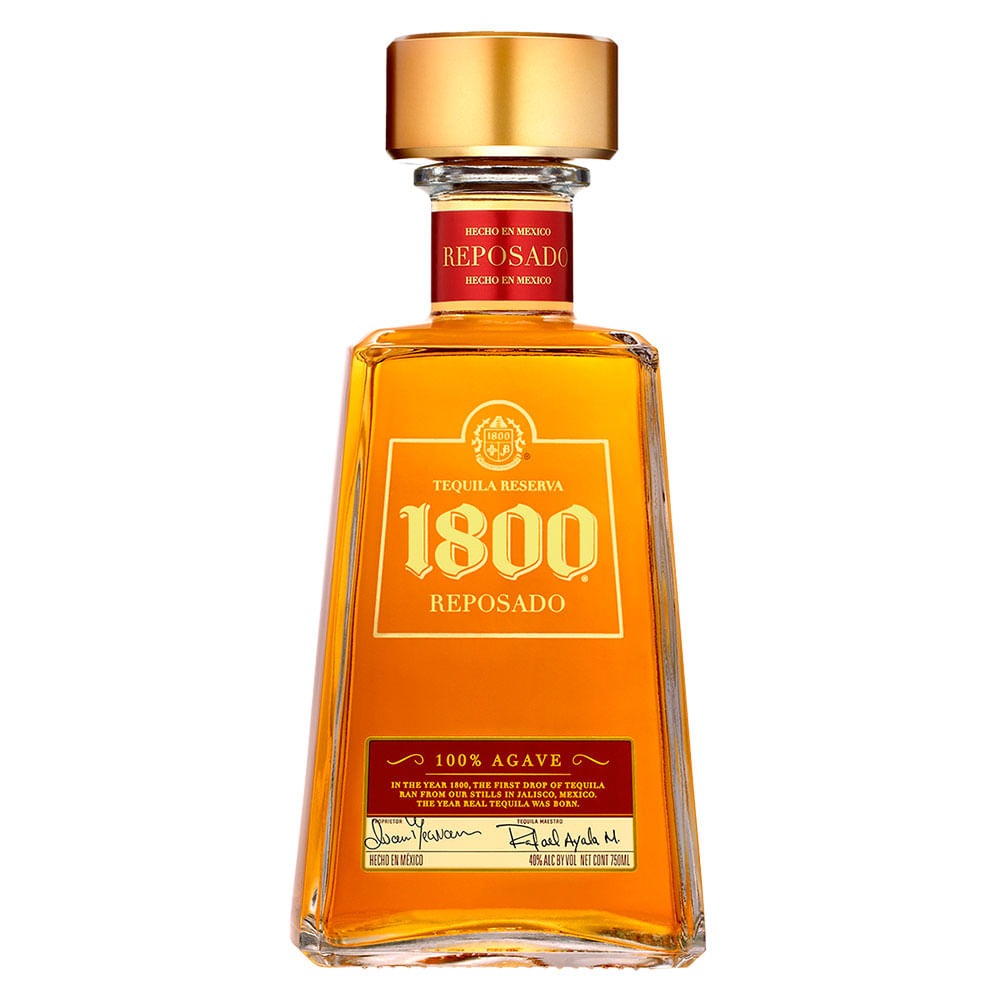 Tequila Reserva 1800 Reposado X 750 Ml Tiendasjumbo Co Jumbo