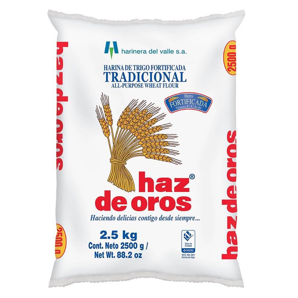 cuantas libras es un kilo de harina