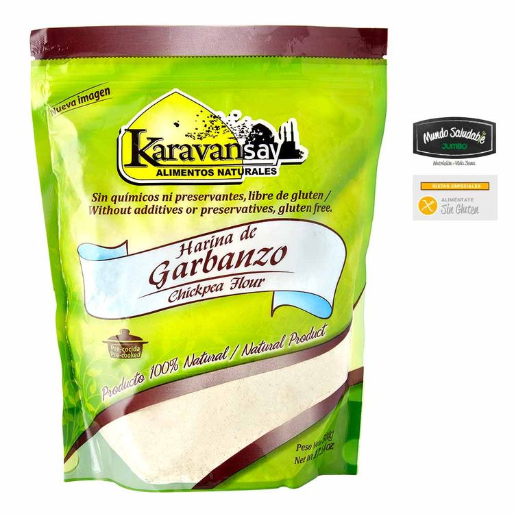 7707357440314-Harina-garbanzo-KARAVANSAY-500g