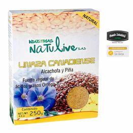 7707316360639-Linaza-canadiense-NATULIVE-alcachofa-y-pina-250g