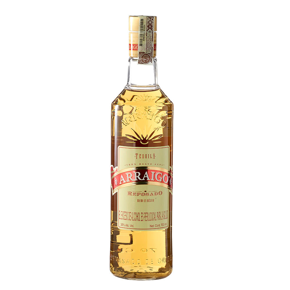 Tequila reposado Arraigo botella x 700 ml -tiendasjumbo.co