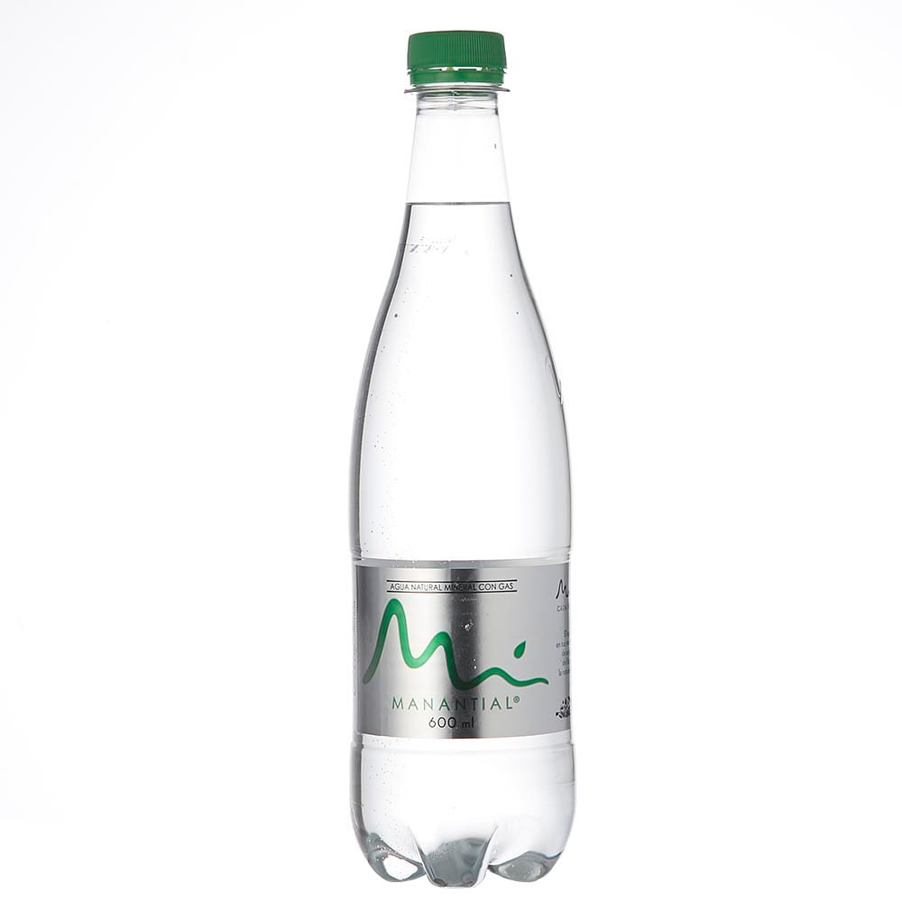 Agua Manantial con Gas x 600ml-tiendasjumbo.co - Tiendas Jumbo