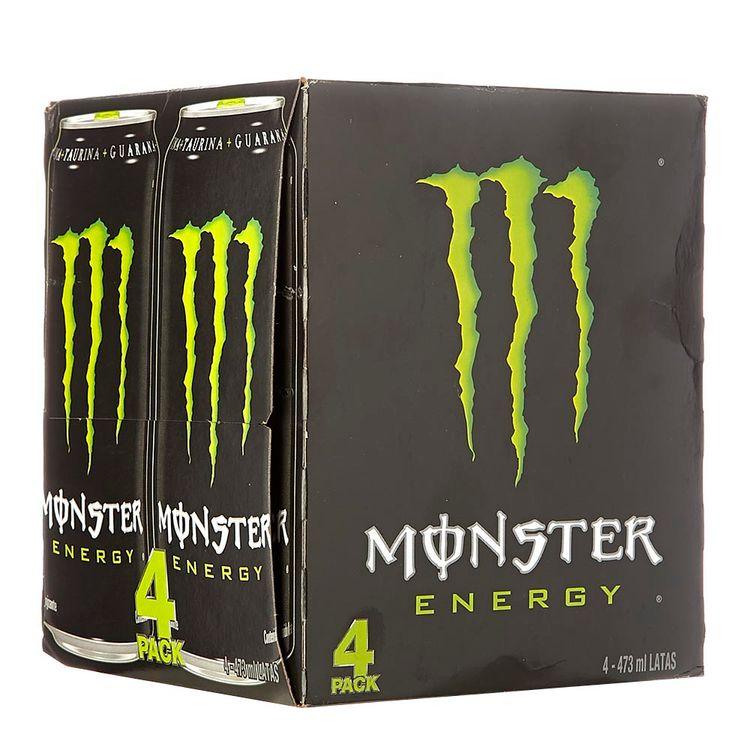 64588ec0d01f8 Bebida energizante Monster Green x 4 und x 473 ml c-u-tiendasjumbo.co -  Jumbo Colombia