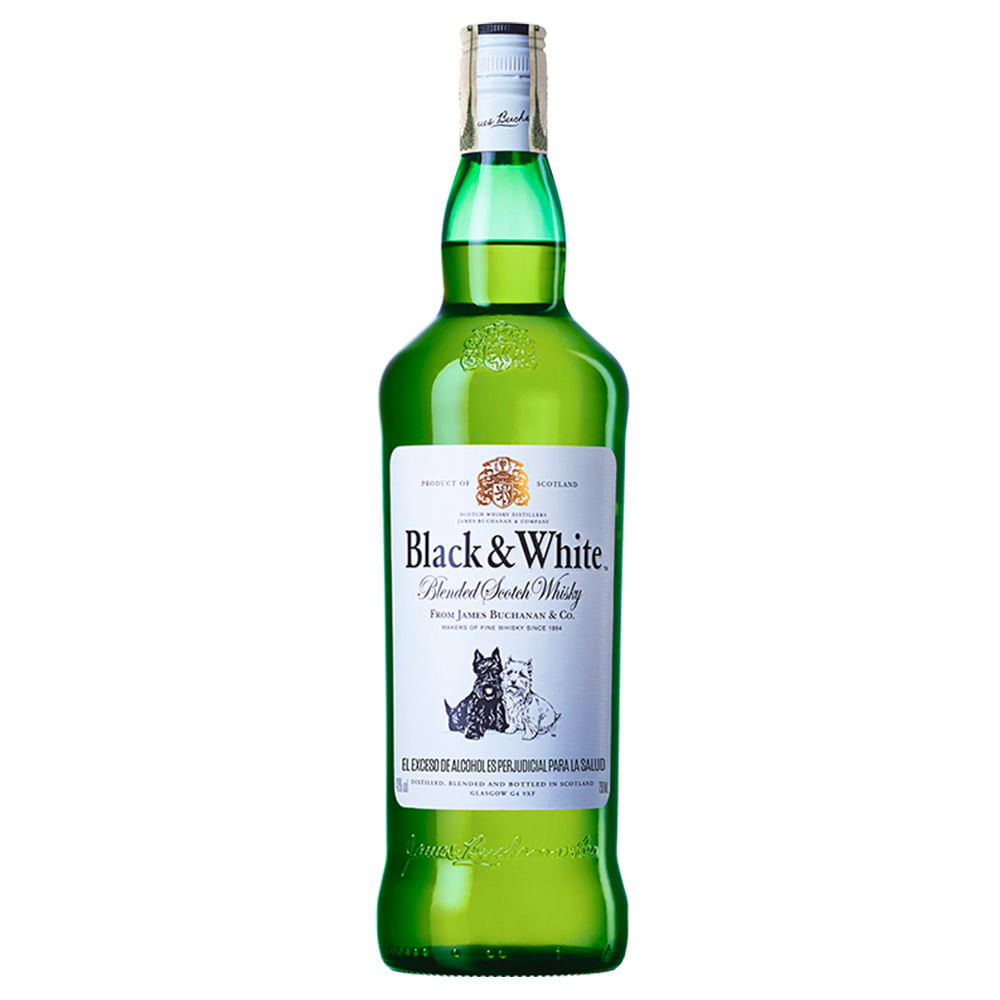 Whisky Black And White 8 A Os X 750 Ml Tiendasjumbo Co Tiendas  # Muebles Para Guardar Whisky