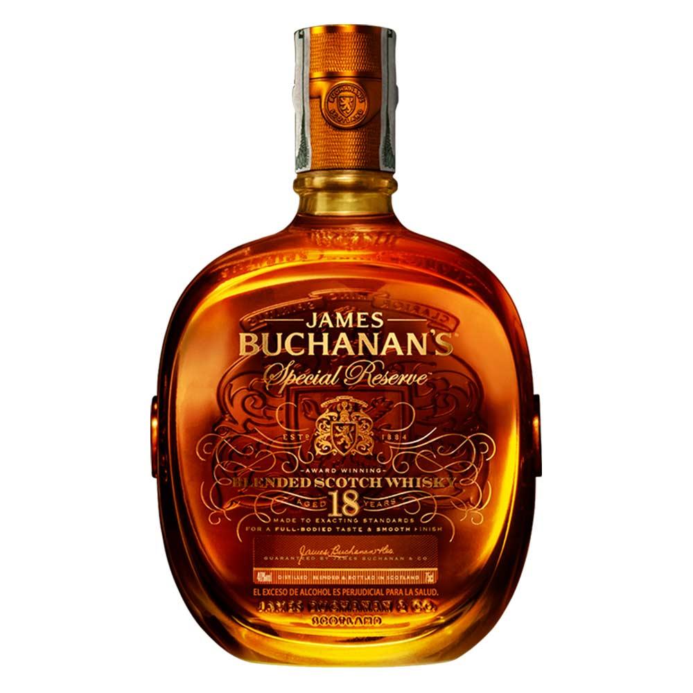 Whisky Buchanans Especial Reserva Botella X 750 Ml Tiendasjumbo Co  # Muebles Para Guardar Whisky