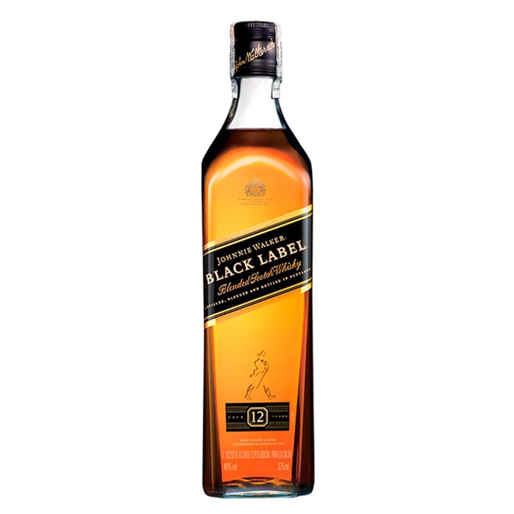 Whisky Johnnie Walker Black Label X 375 Ml Tiendasjumbo Co  # Muebles Para Guardar Whisky