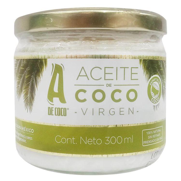 para que se usa el aceite de coco virgen