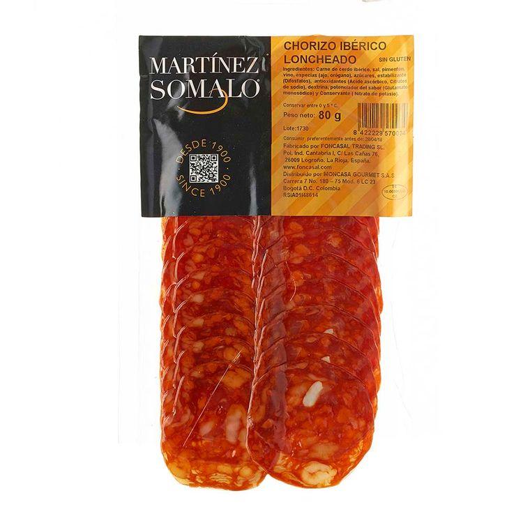 Ibérico Martínez X 80 Chorizo Somalo G BxeWrdoC