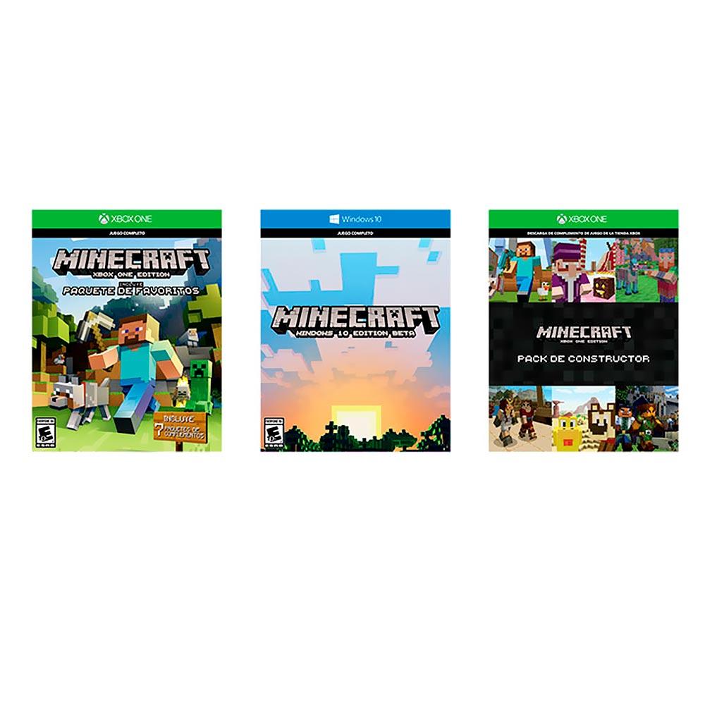 Consola XBOX ONE Slim 500GB + Videojuego Minecraft