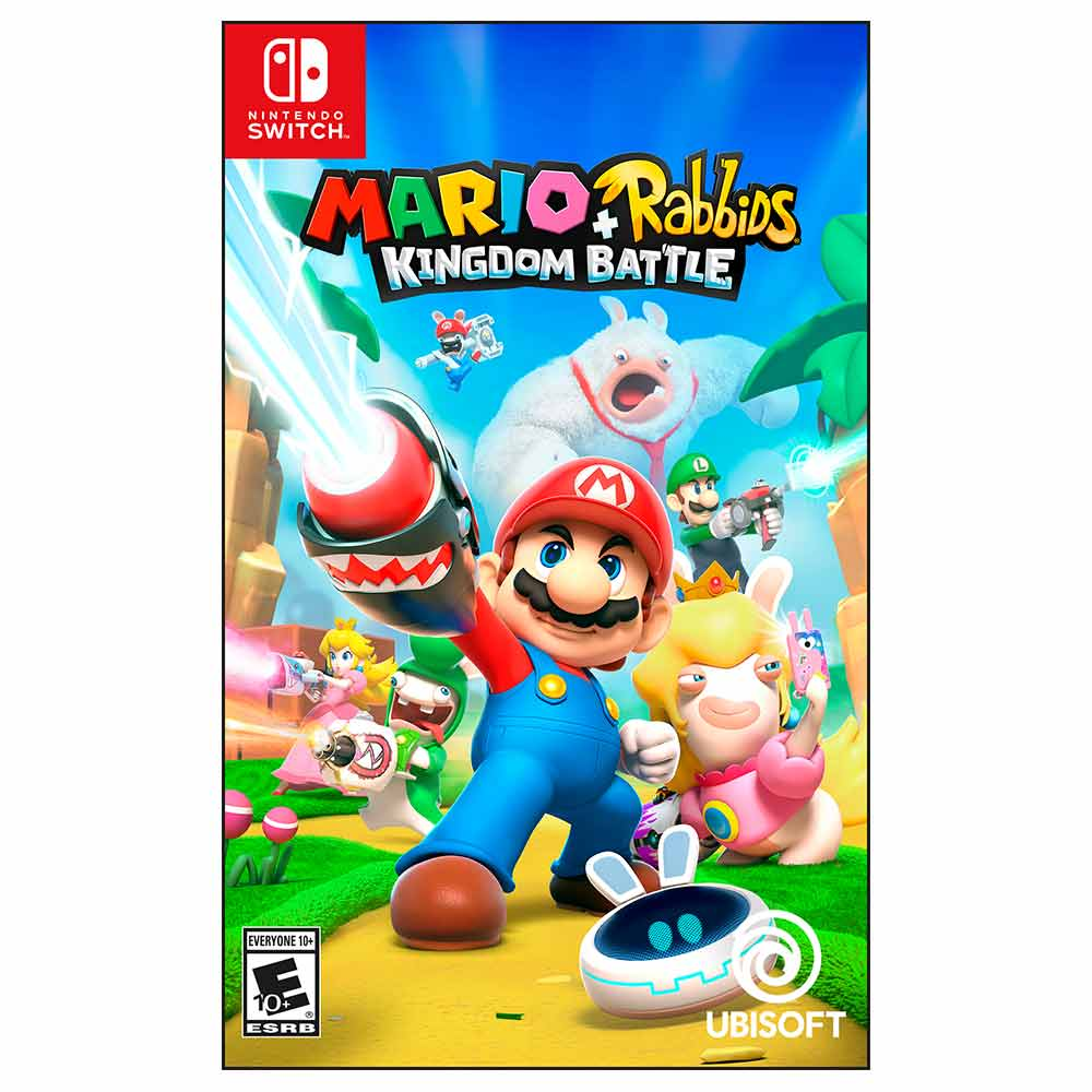 Videojuego Nintendo Switch Mario Rabbids Tiendasjumbo Co Jumbo