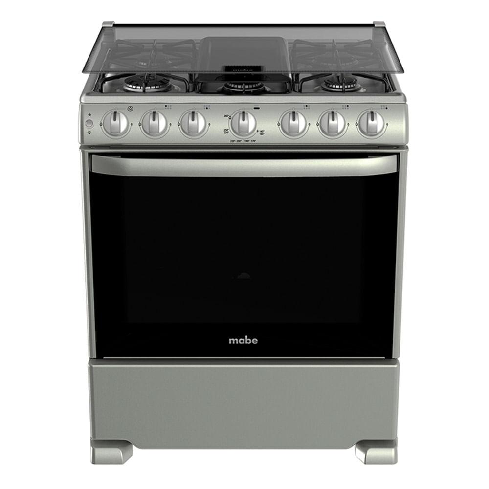 Estufa de piso a gas mabe eme7665csis0 inox tiendasjumbo for Estufas de cocina de gas