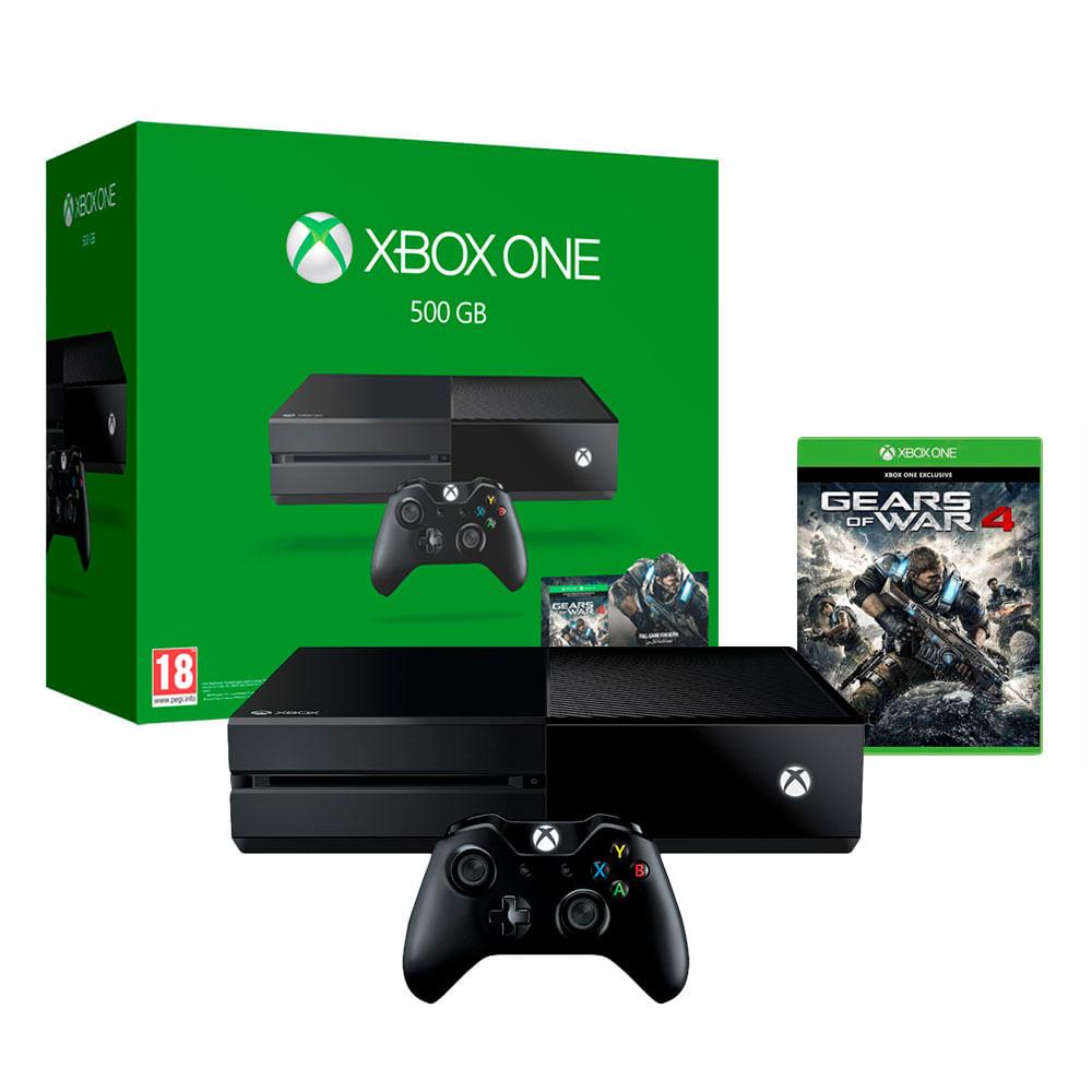 Consola Xbox One 500gb Videojuego Gears Of War 4 Tiendasjumbo  # Muebles Para El Xbox