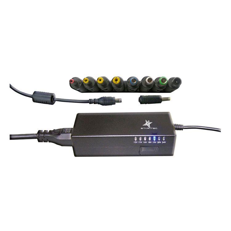 0cee354873a Cargador Universal Para Portatil Star Tec St-Ad-90 Negro - Jumbo Colombia