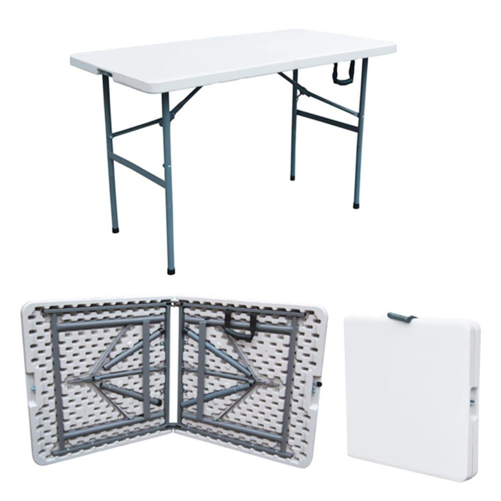 Mesa plegable pl stico 180x75 cm do brands tiendasjumbo for Mesa plegable plastico