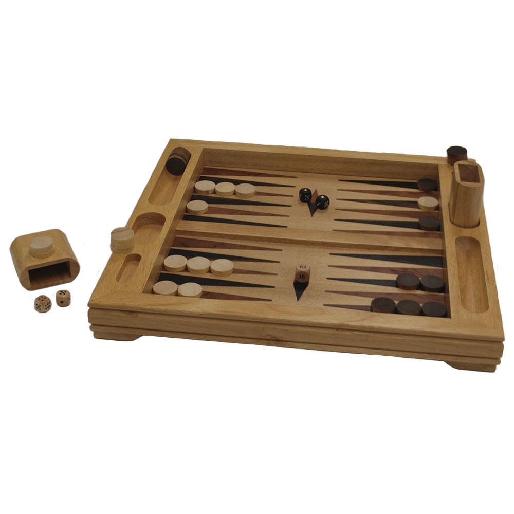 Juego De Mesa Backgammon Jumbo Colombia