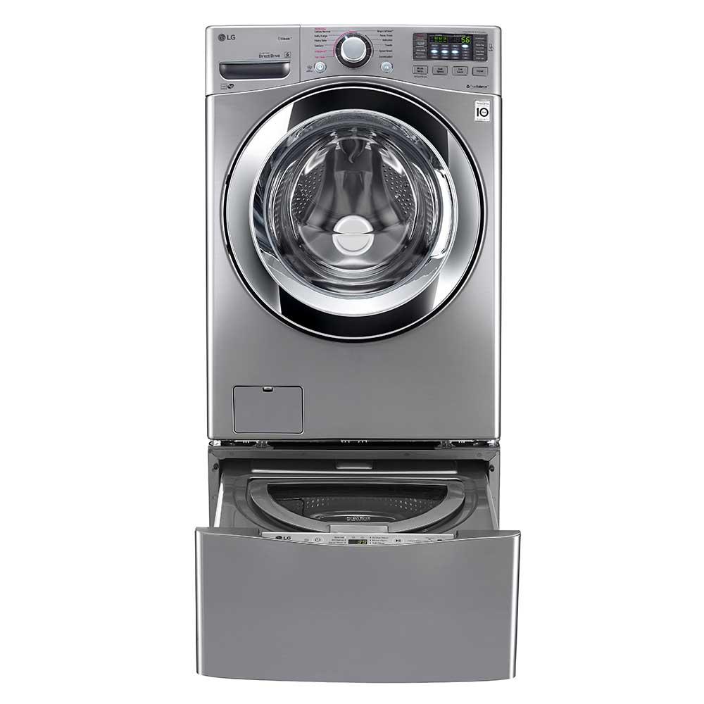 Set lg lavadora wm20vvs6 de 20kg + wd100cv 3.5kg