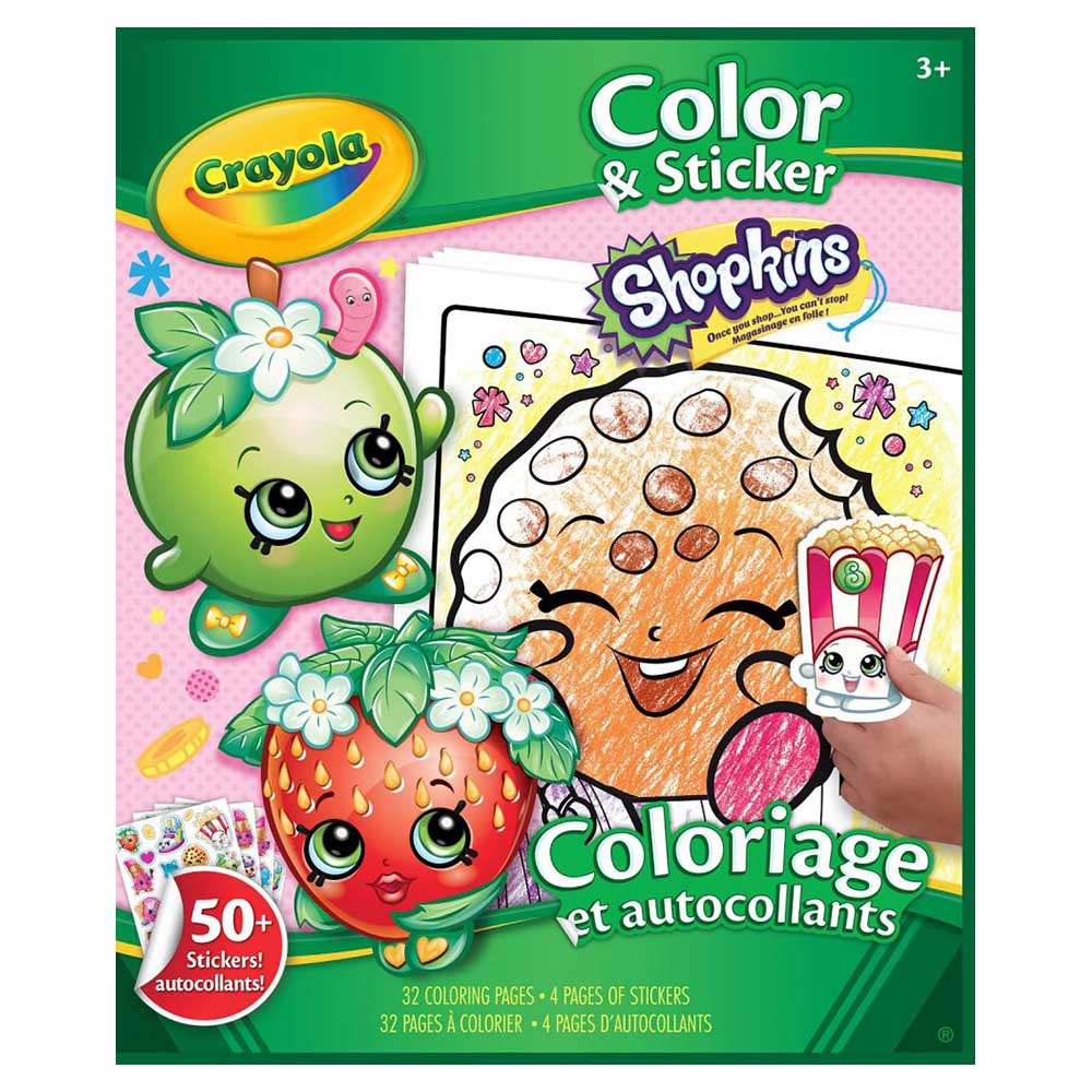 SET LIBRO PARA COLOREAR Y STICKERS SHOPKINS - tiendasjumbo.co ...