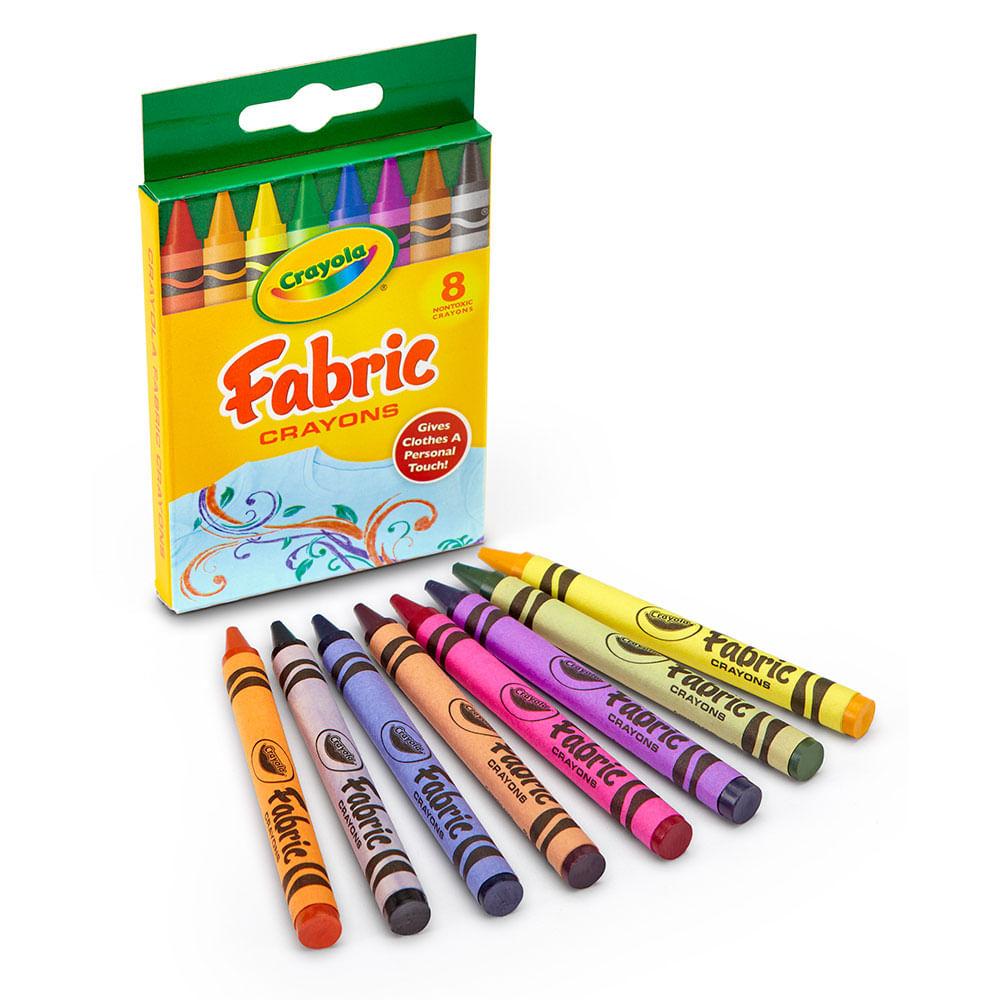 Set de 8 crayolas para tela - Jumbo Colombia