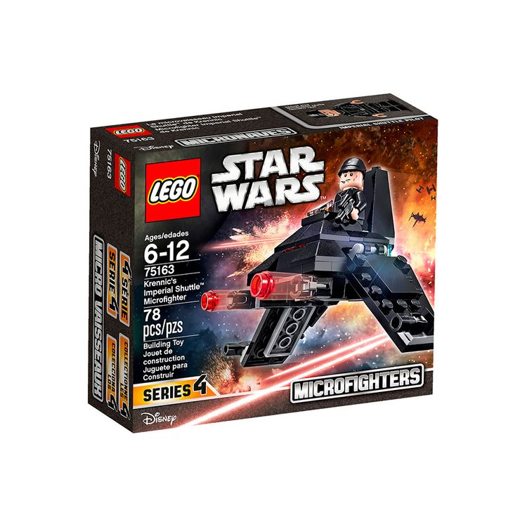 Star Shuttle Wars Armable Imperial Lego Microgfighter 7 ARj5L34q