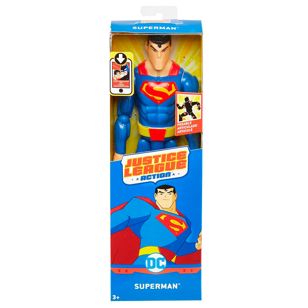 9b6a49f8a Figura Justice League Action Superman 30 Cms - Jumbo Colombia