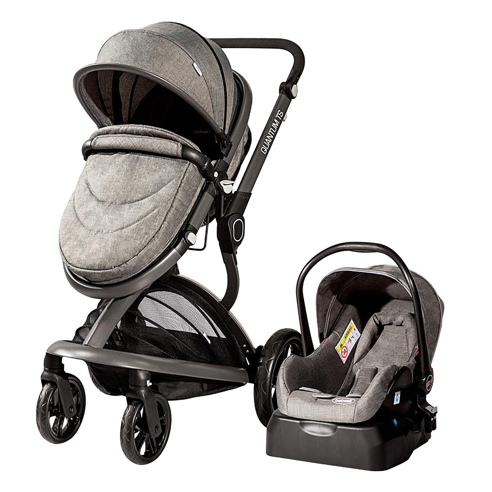 a245c38cd Coche travel system quantum gray - Bebesit