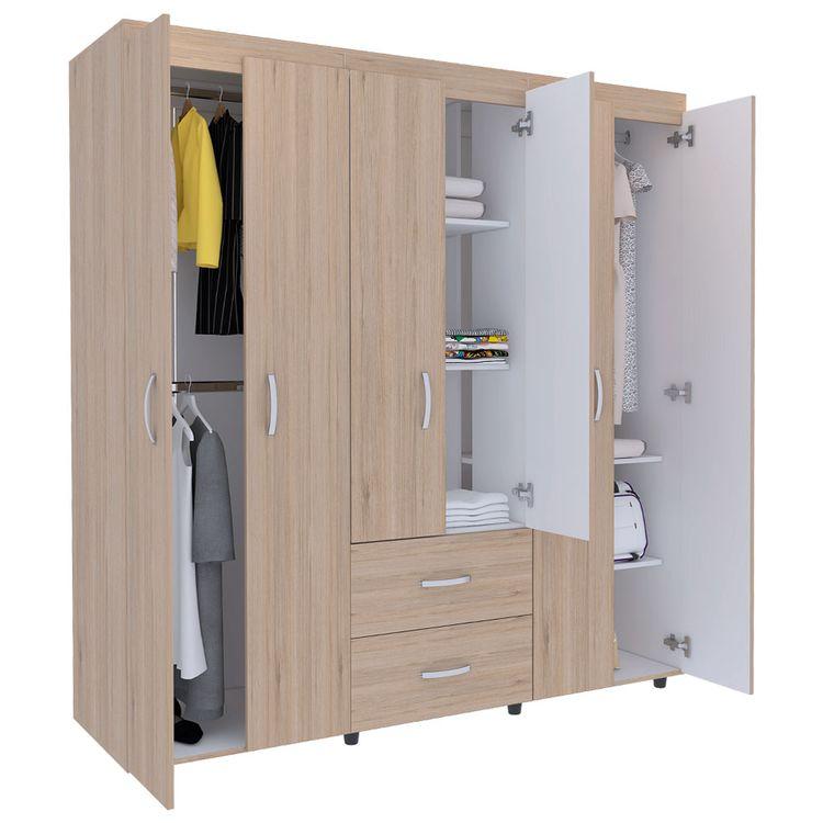 Closet Bariloche Rovere 180 X 170 X 50cm Rta