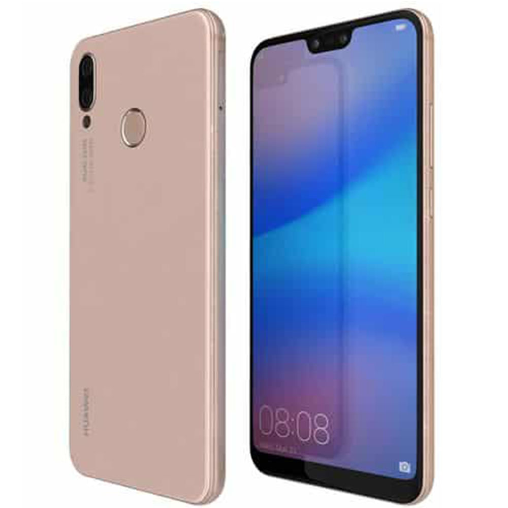 81b31602aa86b Celular Huawei P20 Lite 4G DS 32GB - Rosa - Jumbo Colombia