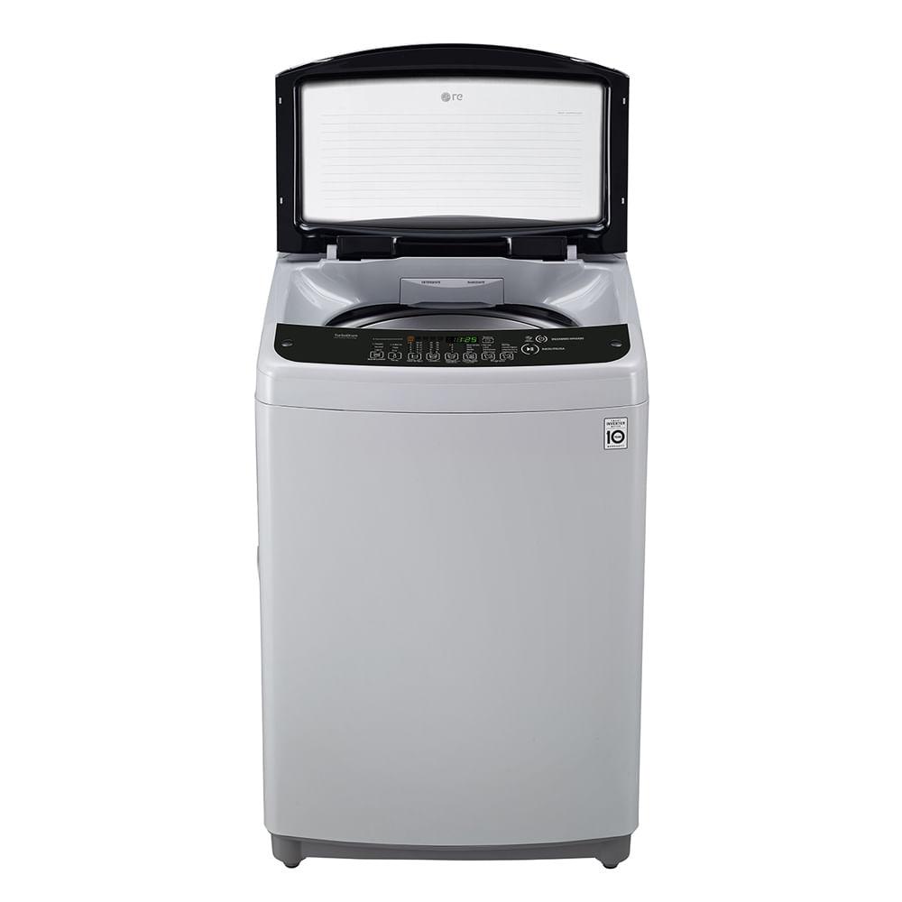 lavadora lg 19kg/42lbs wt19dsb smart invert