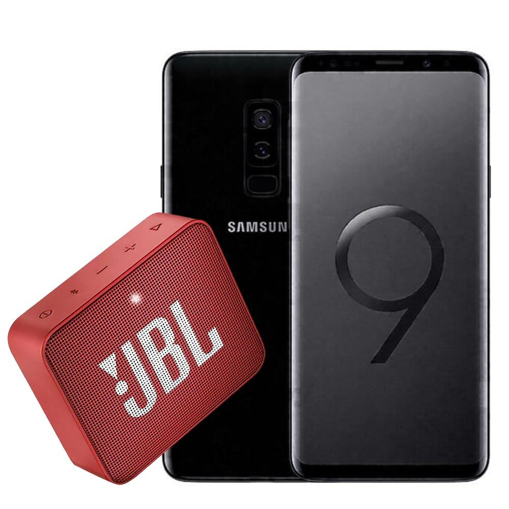 "Celular samsung galaxy s9 plus - pantalla 6.2"" 64gb negro"
