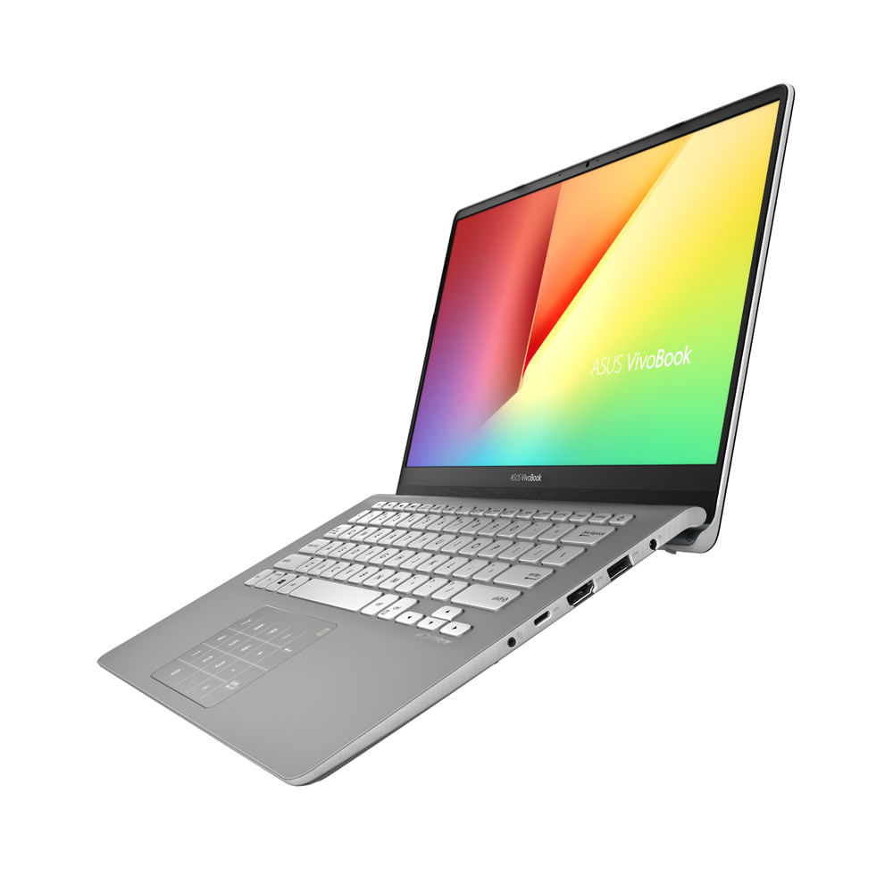 Portátil asus s430fa-eb405t intel core i5-8265u 8gb gun metal + mouse