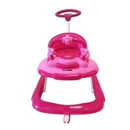 Caminador Musical Rosa Happy Baby