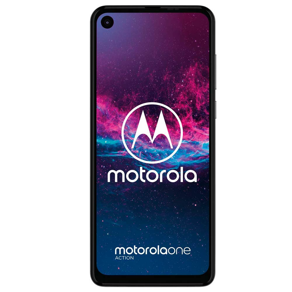 "celular motorola one action 6,3"" 128gb azul"