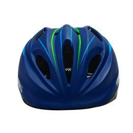 Casco de Bicicleta Niños Premium H180 Azul/Verde Bks