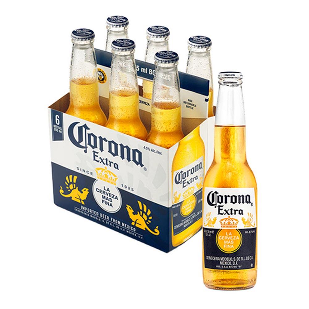 Cerveza Corona X6und X 355 Ml C U Jumbo Colombia