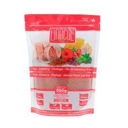 Linaza-Linacol-cranberry-pita-Jamaica-te-verde-x-500-g