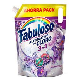 Limpiador Fabuloso alternativa cloro fresca lavanda x1.5l