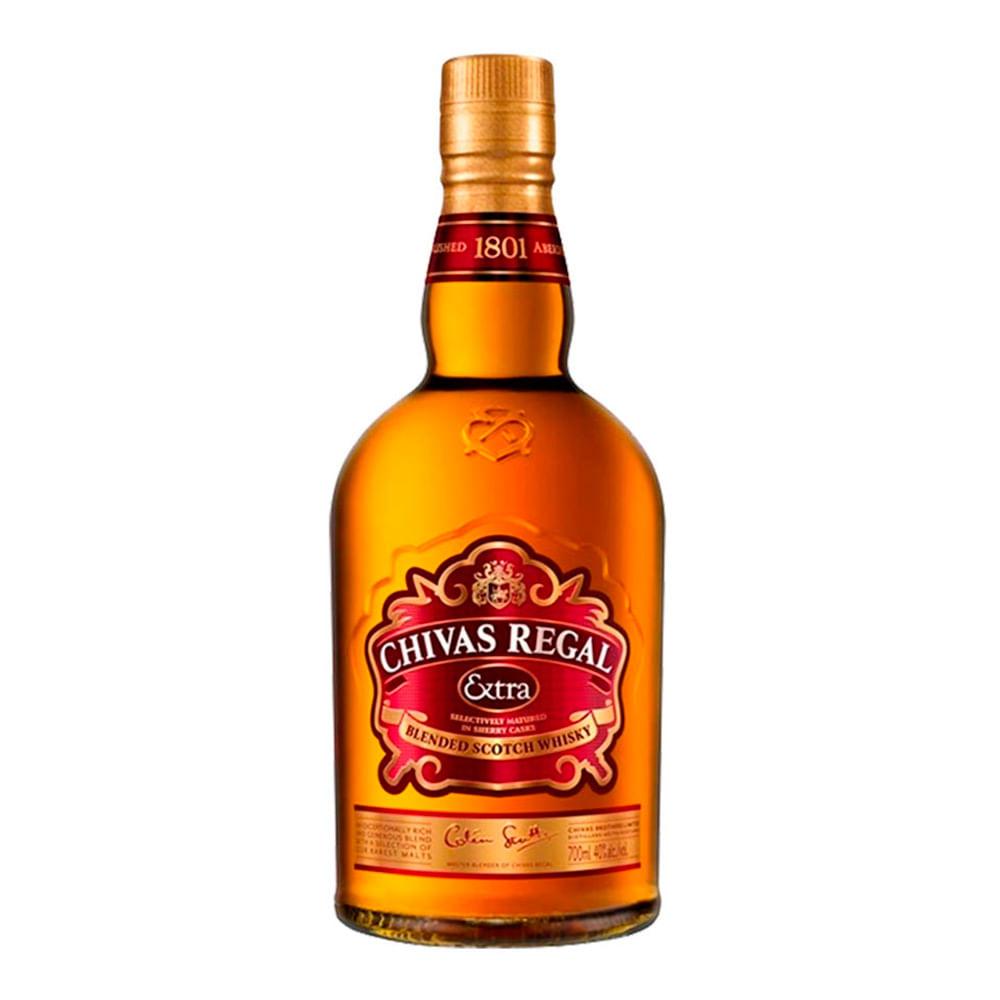 Whisky Chivas Regal extra botella x 700 ml
