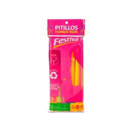 7703252006013--Pitillo-Marimba-Flexado-Neon-x-50-Unds