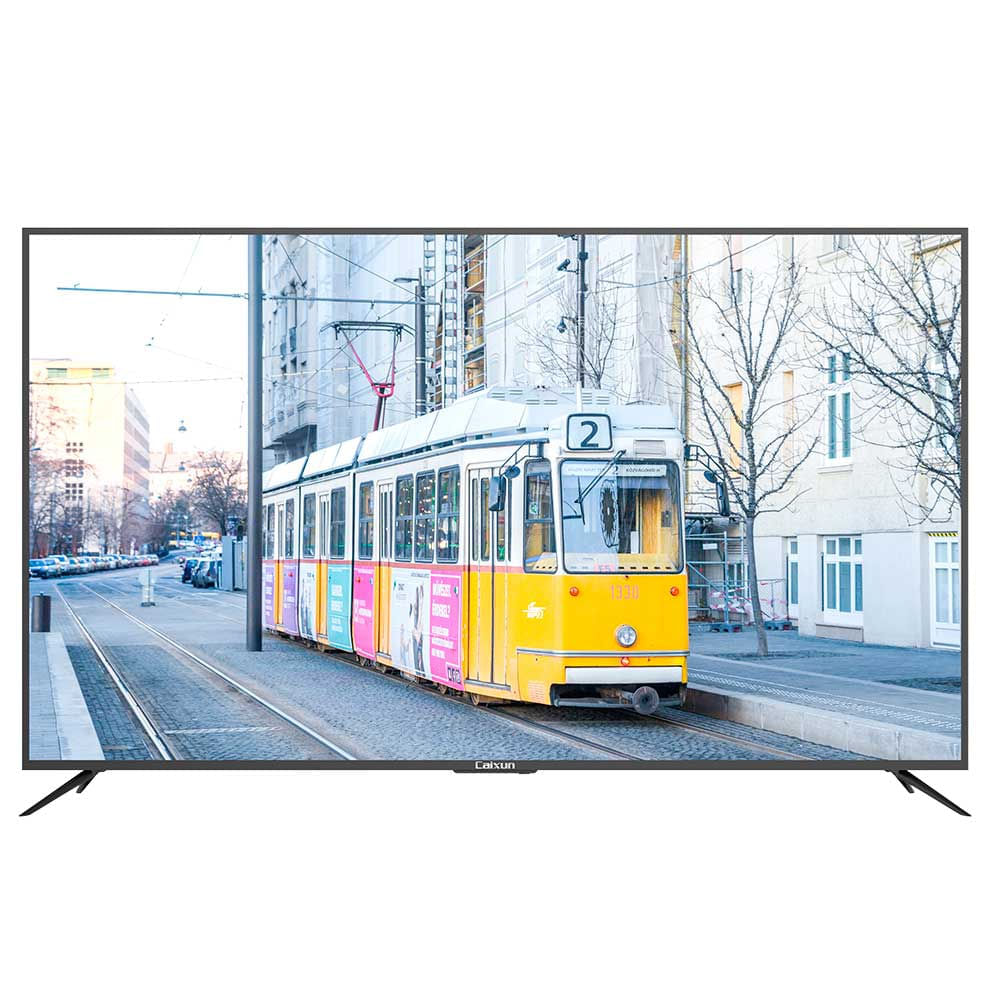 "televisor caixun 75"" smart led uhd 4k plano cx75e1usm negro"