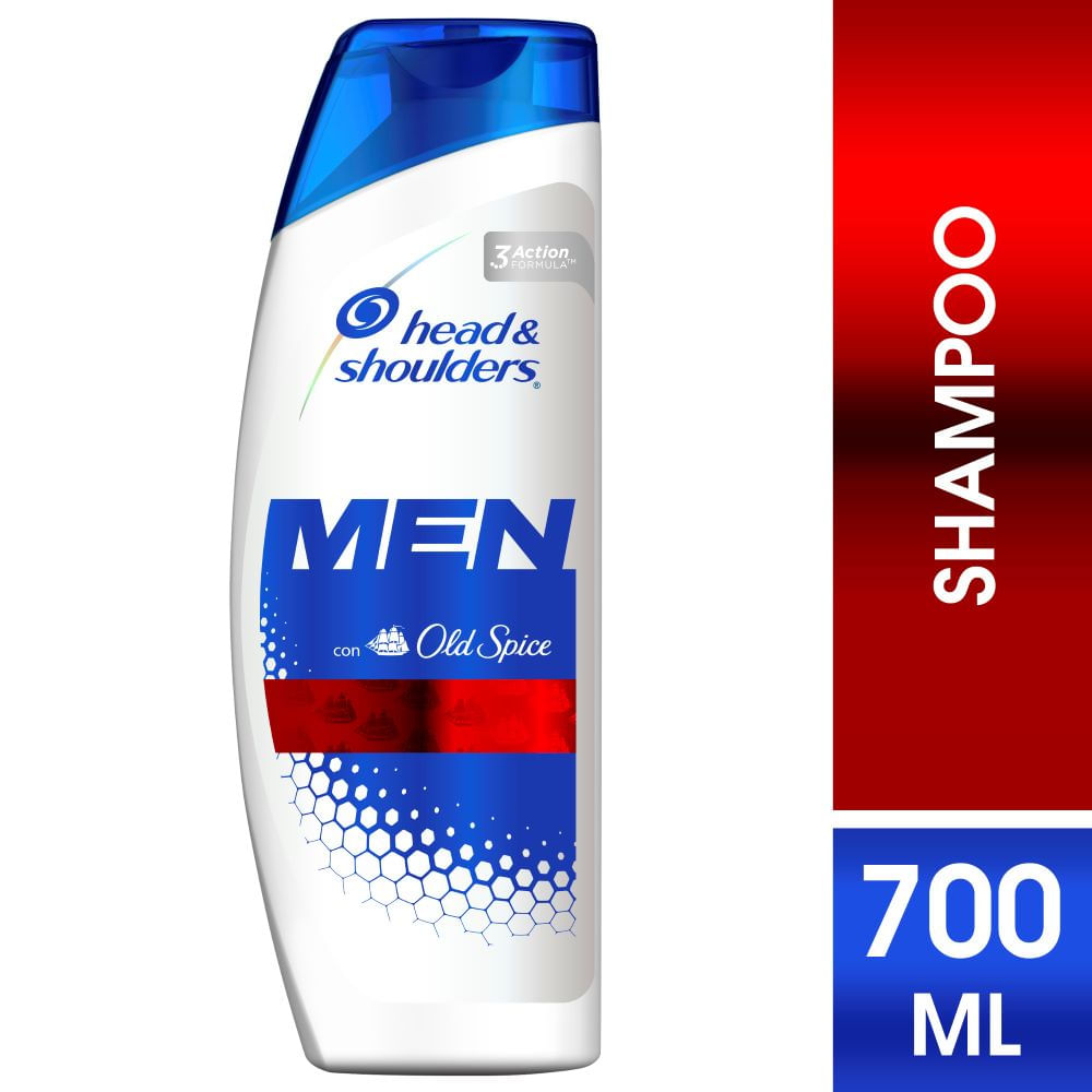 Head & Shoulders Old Spice para Hombres Shampoo 700ml