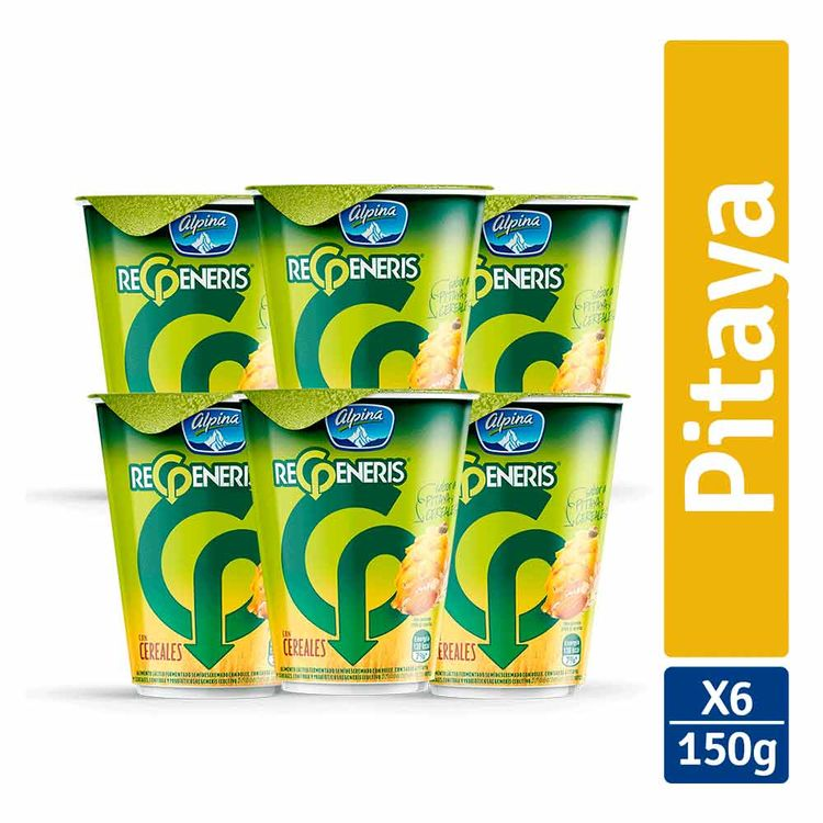 7702001101573-multiempaque-x6-unidades-alimento-lacteo-regeneris-cereales-pitaya-vaso-150g