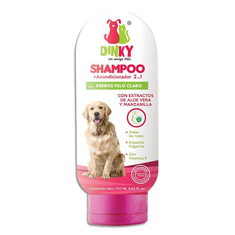 7709990398205---Shampoo-2en1-DINKY-perro-pelo-claro-x250-ml