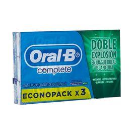 7506195171912. Oral-B Complete Menta Refrescante Pasta Dental x 3 Und 07322b4e54f4