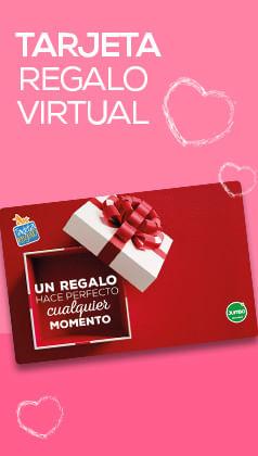 Tarjeta de regalo virtual Jumbo en Amor y Amistad